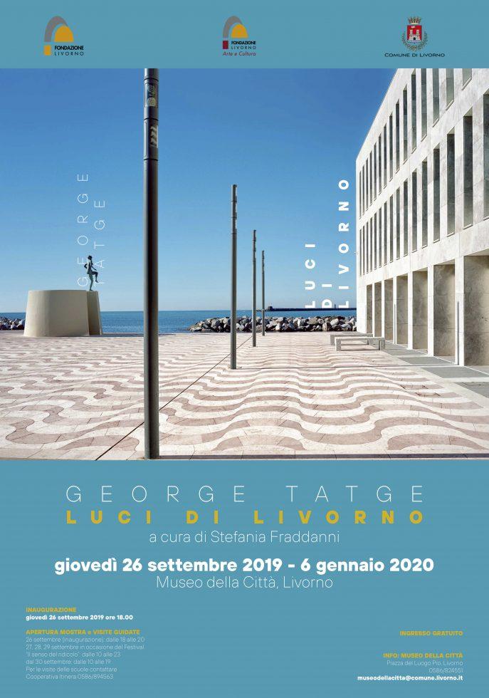 A Livorno la mostra fotografica di Tatge - Manifesto