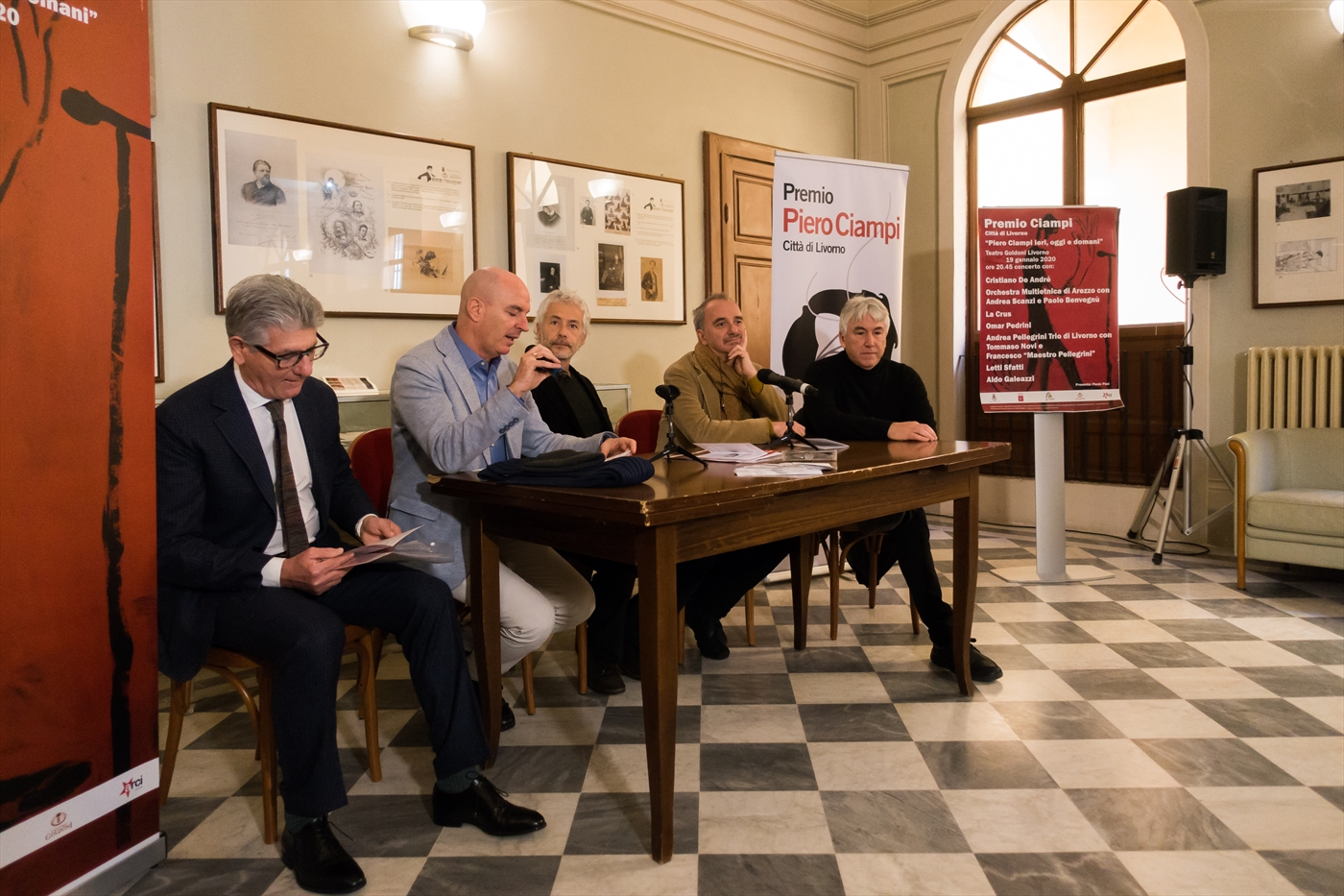 Conferenza stampa Premio Ciampi 2020